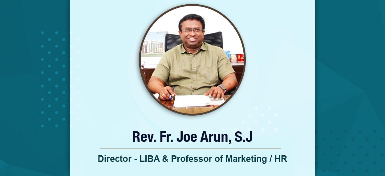 Rev. Fr. Joe Arun, S.J.