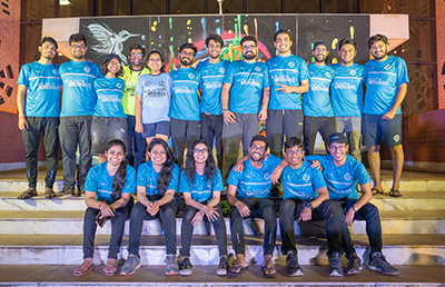 The Fitness Club of  Indian Institute of Managemen- Core team