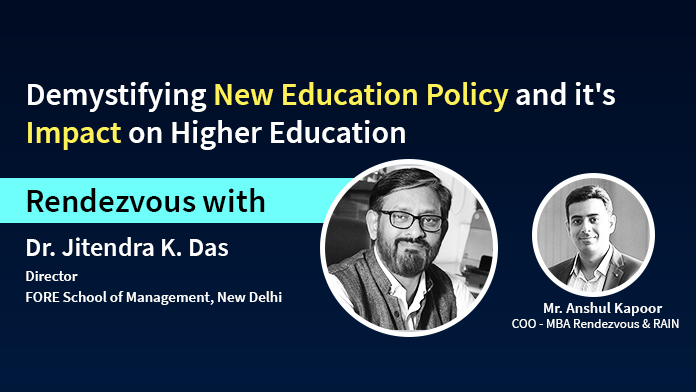 Demystifying New Education Policy and it's Impact on Higher Education