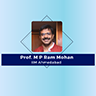 Prof. M P Ram Mohan from IIM-A is the CAT Convenor-2021